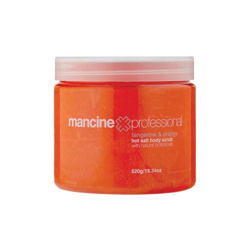 MANCINE - Hot Salt Body Scrub: Tangerine & Orange 520g