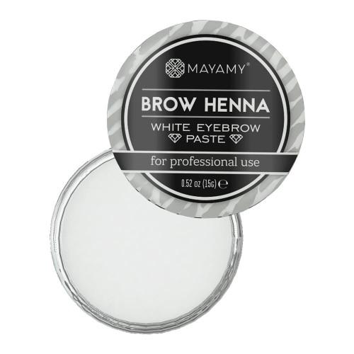 MAYAMY - Brow Henna White Eyebrow Paste 15g