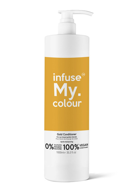 MY.HAIRCARE - Infuse My. Colour™ – Gold Conditioner 1000ml
