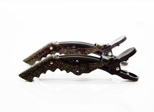 COLORTRAK - Midnight Shimmer Croc Clips