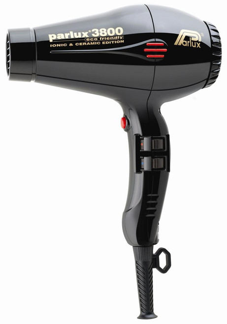PARLUX - 3800 Eco Friendly Ionic & Ceramic Dryer - Black
