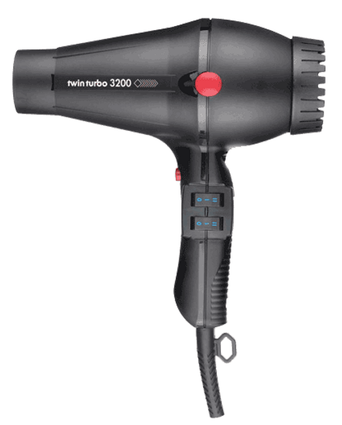 TWIN TURBO - 3200 Ceramic & Ionic Professional Hair Dryer