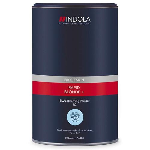 INDOLA - Rapid Blonde+ Blue Bleaching Powder 450g
