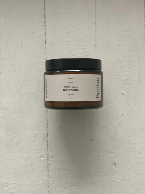 BOR.DAN - Candles - Vanilla & Caramel 450g