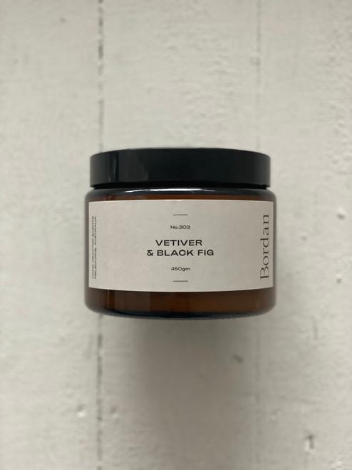 BOR.DAN - Candles - Vetiver & Black Fig 450g
