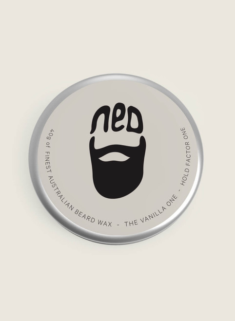 NED - The Vanilla One Beard Wax 40g