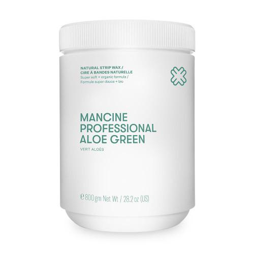MANCINE - Strip Wax Aloe Green 800g