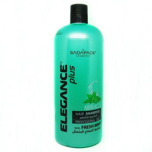ELEGANCE - Miracle Hair Shampoo Fresh Mint 1000ml