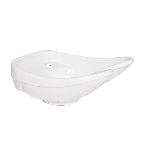 JOIKEN - Basin - Trevi II Ceramic Basin - White