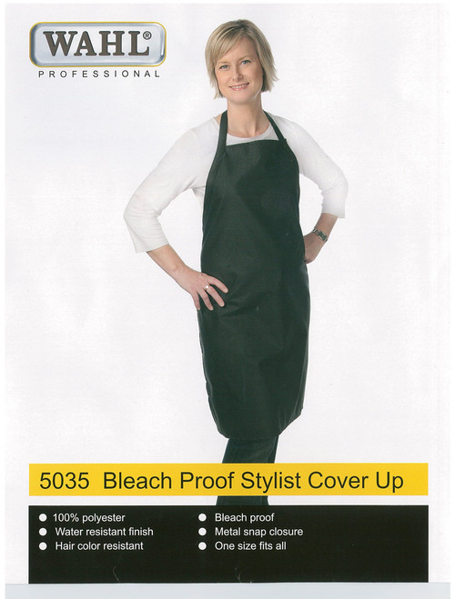 WAHL - 100% Polyester Bleach Proof Stylist Cover Up