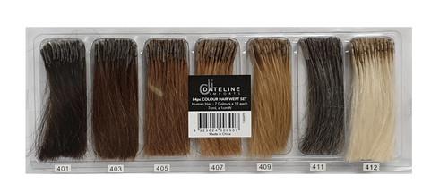 Colour Hair Weft Set 84pc