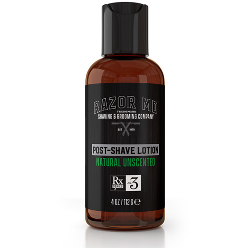 RAZOR MD - Shaving - Post-Shave Lotion - Natural Unscented 112g