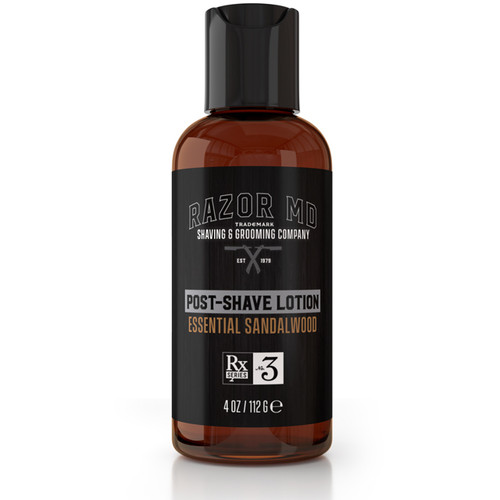 RAZOR MD - Shaving - Post-Shave Lotion - Essential Sandalwood 112g