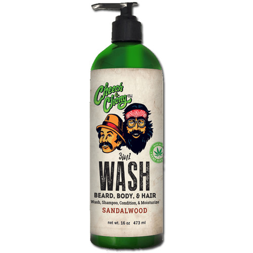 CHEECH & CHONG - 3-in-1 Wash - Beard, Body & Hair 473ml