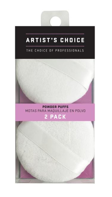 ARTIST'S CHOICE - Powder Puffs - 2 Pack