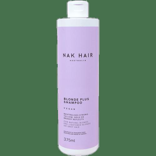 NAK HAIR - Blonde Plus Shampoo 375ml