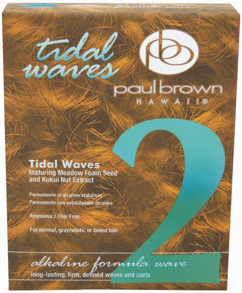 PAUL BROWN HAWAII - Tidal Waves - Alkaline Formula #2