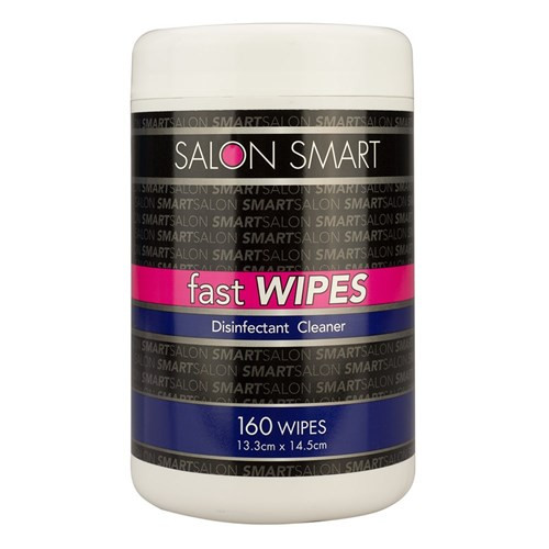 SALON SMART - Fast Wipes Disinfectant Cleaner 160pk