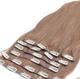 "AMAZING HAIR - Full Head Ten Piece Clip-In Set - 20"" - #6 Light Brown"