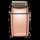 BABYLISS PRO - FoilFX02 Metal Double Foil Shaver - Rose Gold