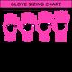 COLORTRAK - Pink Vinyl Gloves   Disposable Powder Free   Large