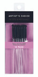 ARTIST'S CHOICE - Ball Tip Silicone Mascara Wands - 12 Pack