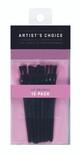 ARTIST'S CHOICE - Lip Brushes - 12 Pack
