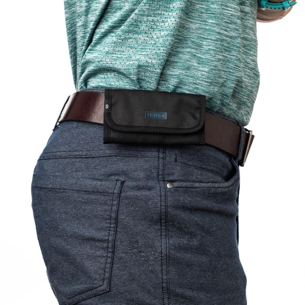 Tenba Tools Reload SD6+CF6 Card Wallet - Black