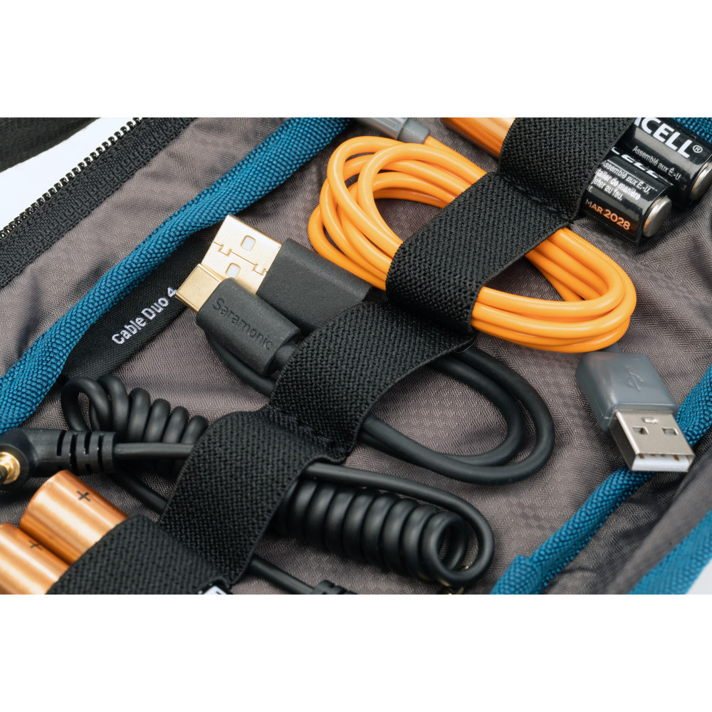 Tenba Tools Cable Duo 4 - Cable Pouch - Black