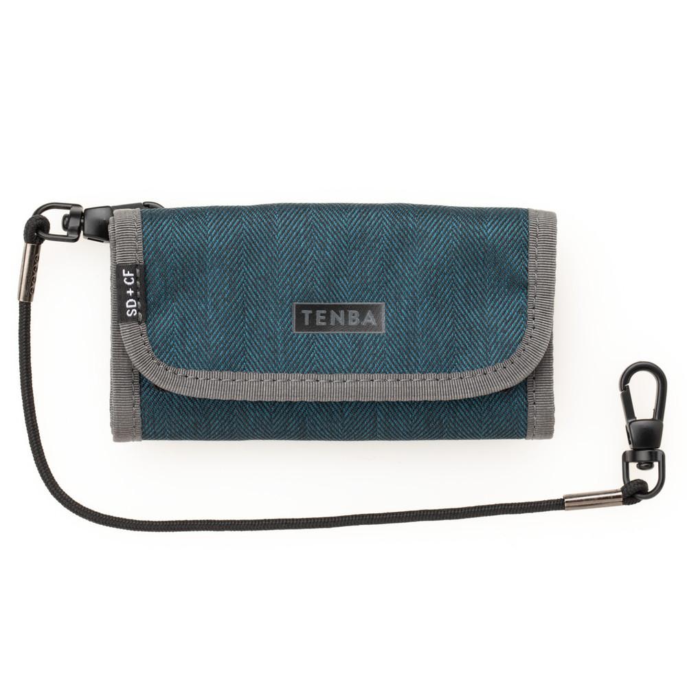 Tenba Tools Reload SD6+CF6 Card Wallet - Blue