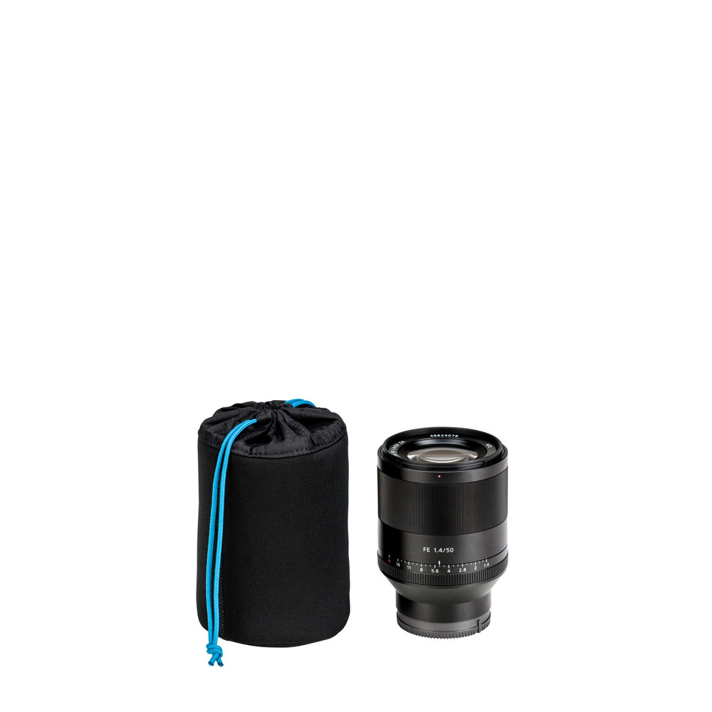 Tenba Tools Soft Lens Pouch 5x3.5 in. (13x9 cm) - Black