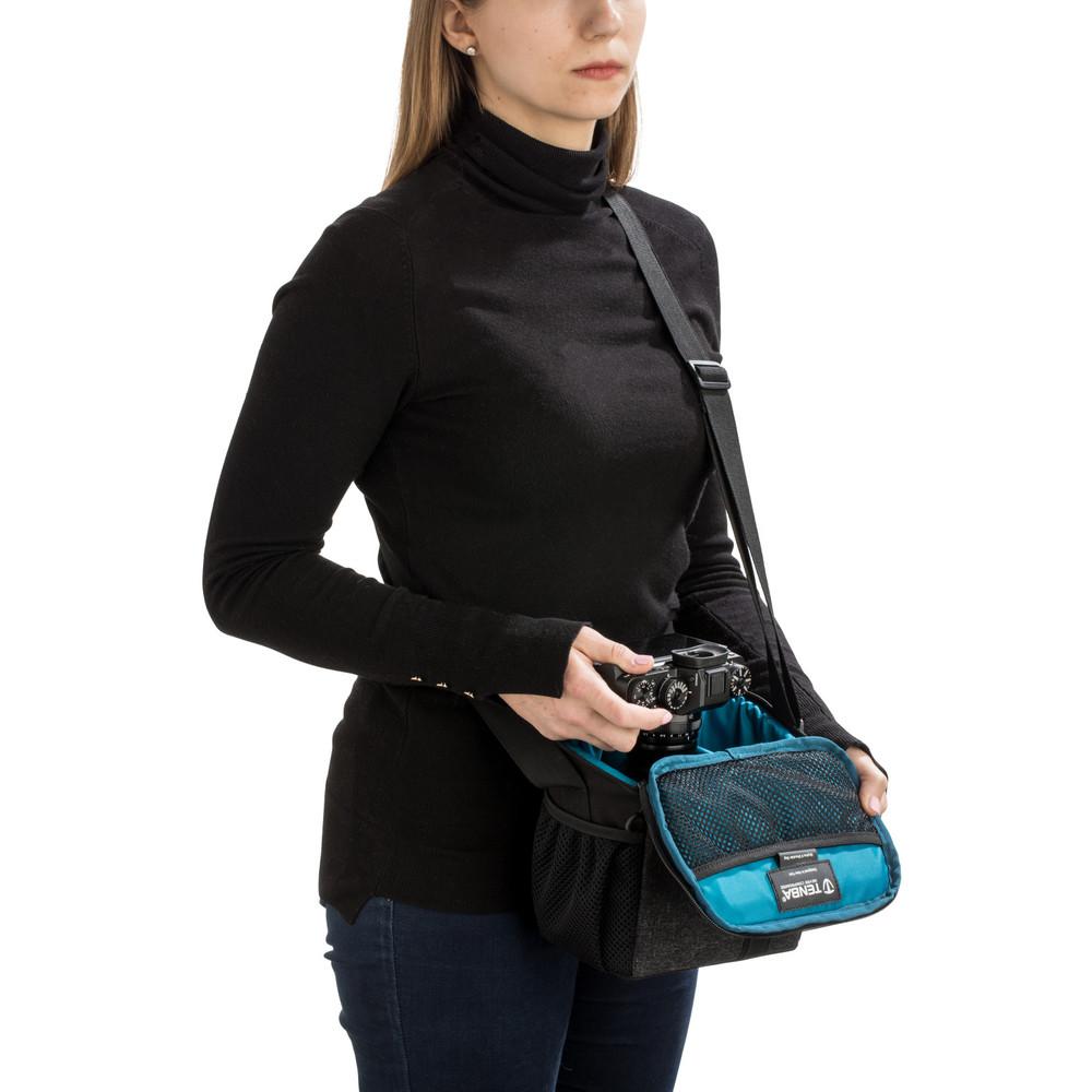 Tenba Skyline 8 Shoulder Bag - Black