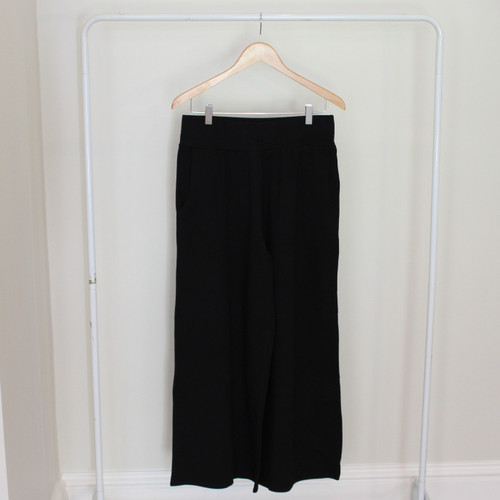 Luna Black Culottes