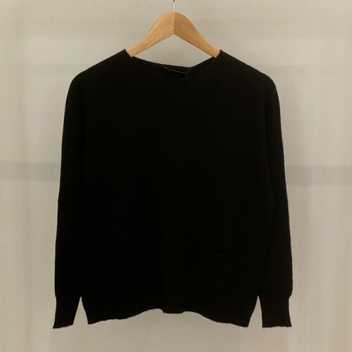 Light knitted jumper with pockets