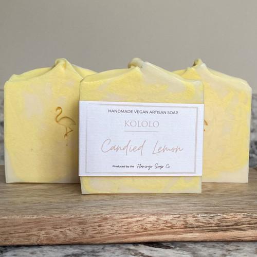 Candied Lemon Soap Bar
