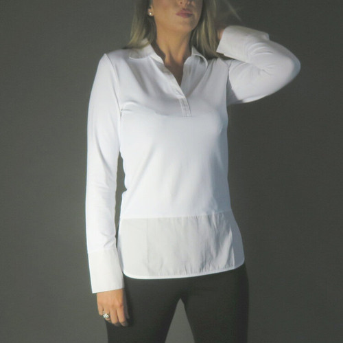 Elastane Shirt with Shirt Tail