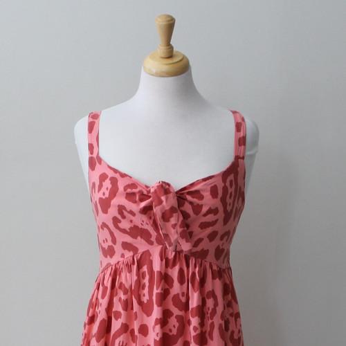 Long Leopard Print Dress