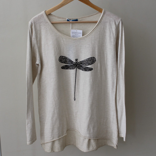 Long Sleeve Dragonfly Top