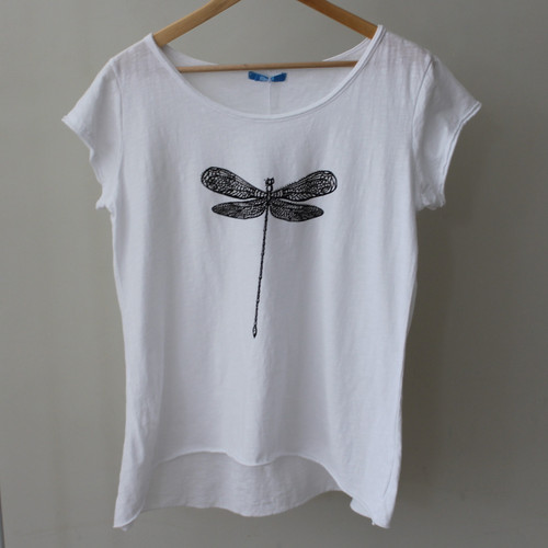 T-Shirt Dragonfly Top