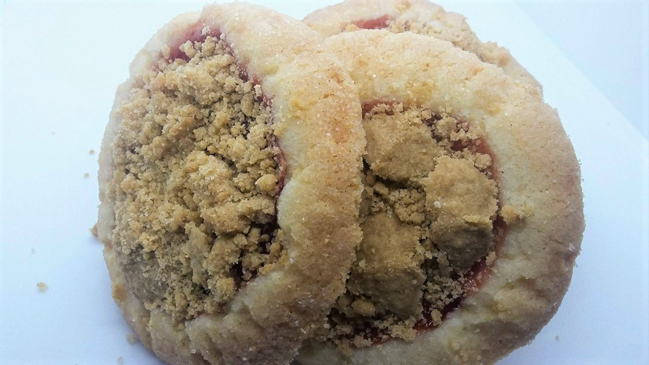 PB and jelly cookie cobbler