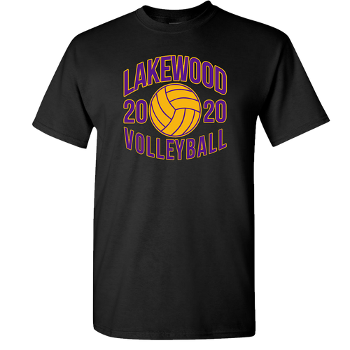 Lakewood High School Volleyball Tee (F025)