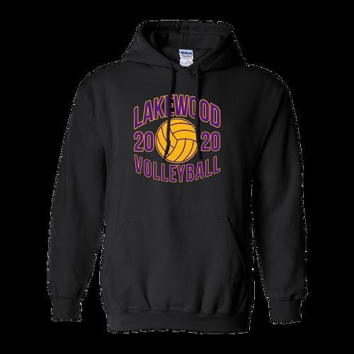 Lakewood High School Volleyball Hoodie (F025)