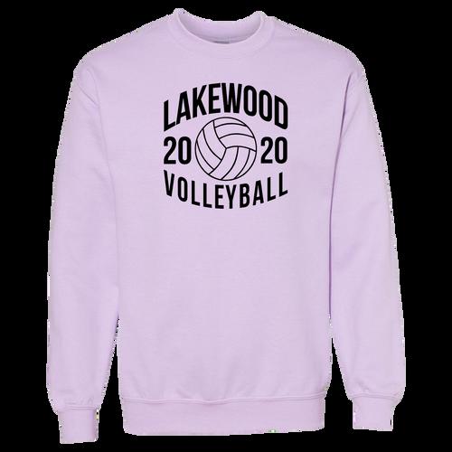 Lakewood High School Volleyball Crewneck (F026)