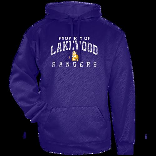 Lakewood Rangers Education Embossed Hoodie (F018)