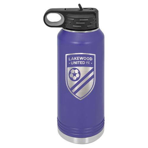 Lakewood United Football Club Water Bottle (L001)