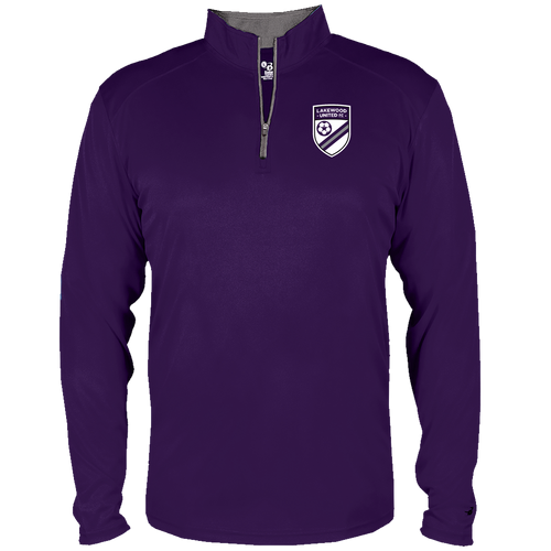 Lakewood United Football Club Youth 1/4 Zip  (S006)