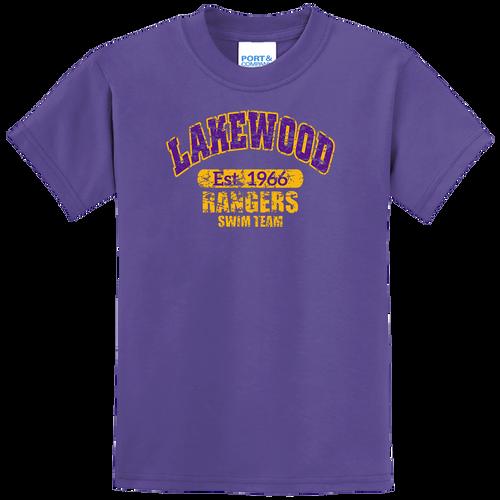 Lakewood Rangers Swim Team Youth Tee (F040)
