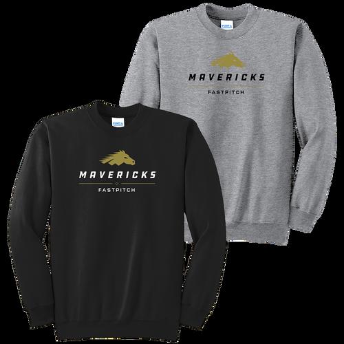 Mavericks Fastpitch Crewneck (F042/F043)