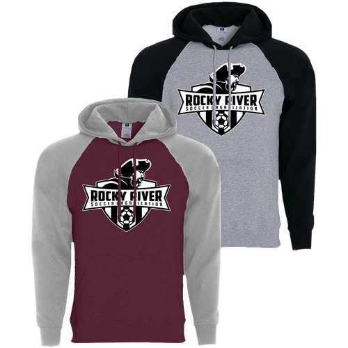 Rocky River Soccer Organization Banner Hoodie (F014)