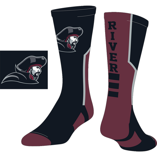 Rocky River Soccer Organization Custom Socks (CUST)